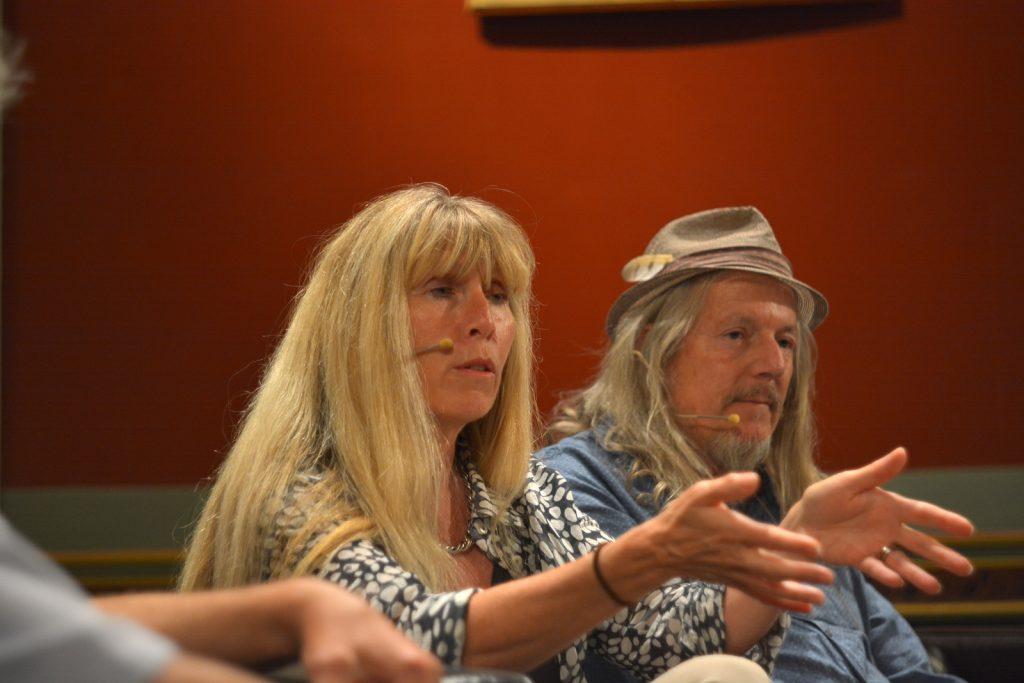 Helene und Wolfgang Beltracchi zu Gast an der Auftaktveranstaltung zur Hochstapler-Ausgabe (Foto: Mario Metzler)