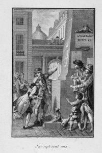Ich bin 700 Jahre alt. Der Ich-Erzähler in Merciers Roman schläft 1768 in einem korrupten, despotischen und versmogten Paris ein und wacht 2440 daselbst als alter Mann wieder auf. Paris ist kaum wiederzuerkennen.
