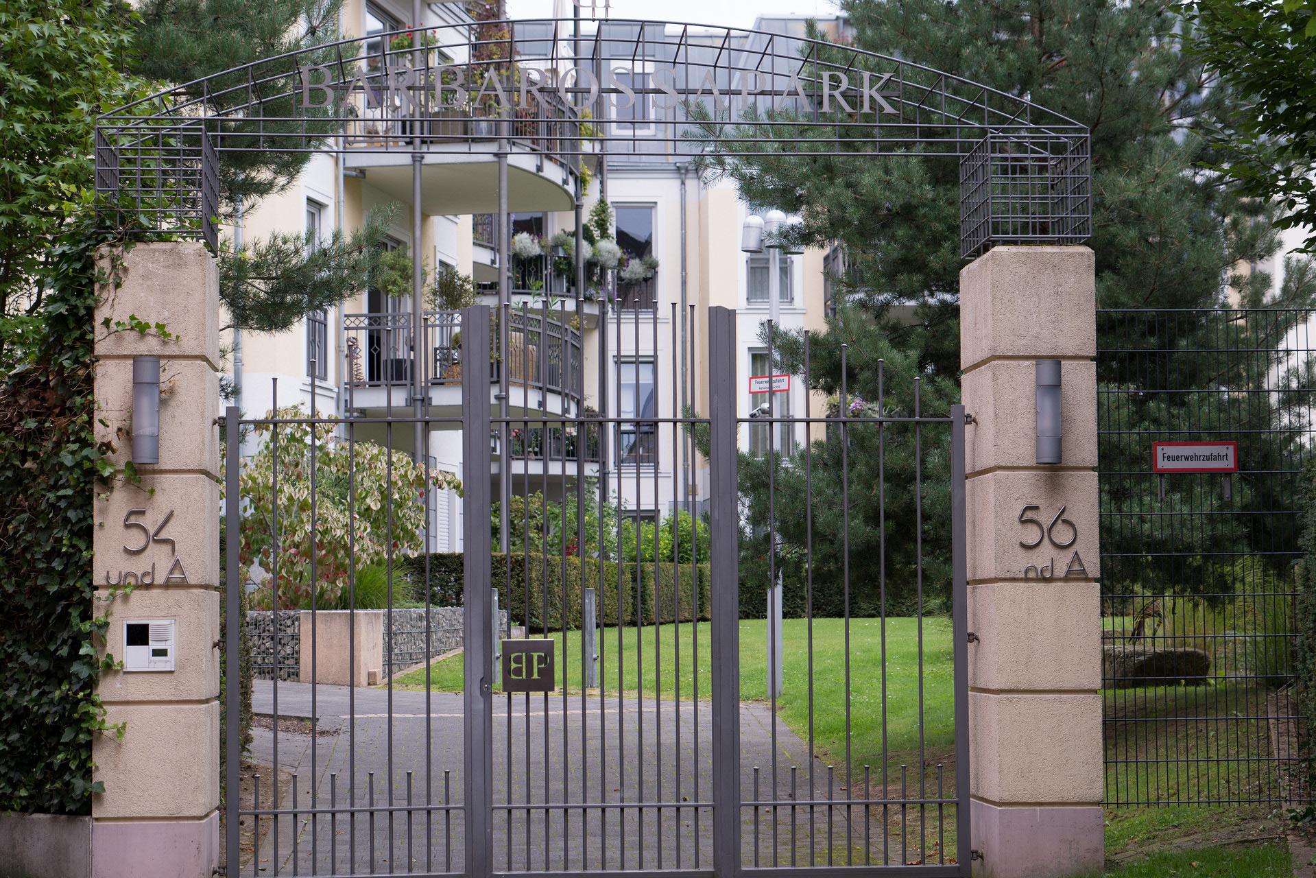 Eingang zum Barbarossapark in Aachen (Bild: Ingold Janssen, Flickr)