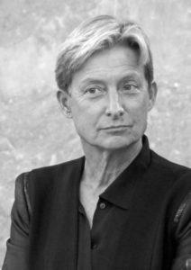 Judith Butler anlässlich der Verleihung des Adorno-Preises 2012 in der Paulskirche von Frankfurt