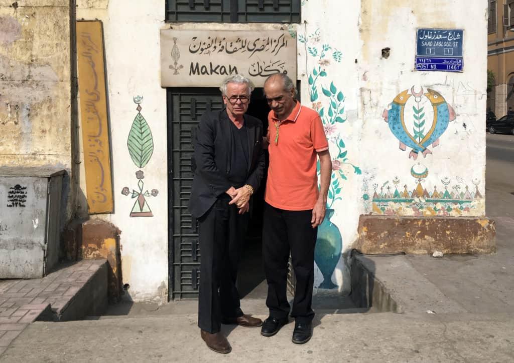 Brüder im Geiste. Martin Hess und Ahmed El Maghraby (Bild: Susanna Petrin)