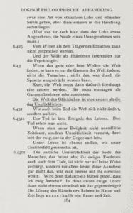Wittgenstein, Ludwig. 1921. <em>Logisch-philosophische Abhandlung</em>.