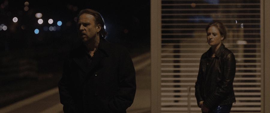 """""""Ich möchte nicht mitten in der Nacht auf einer Baustelle mit Dir über unsere Zukunft sprechen."""" Filmstill (59:36) aus <em>24 Wochen</em> (Berrached 2016)."""
