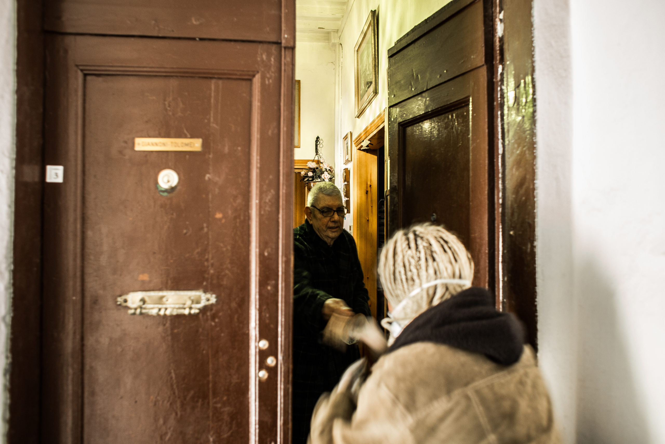 Giulia bei Piero (© Giacomo Sini)