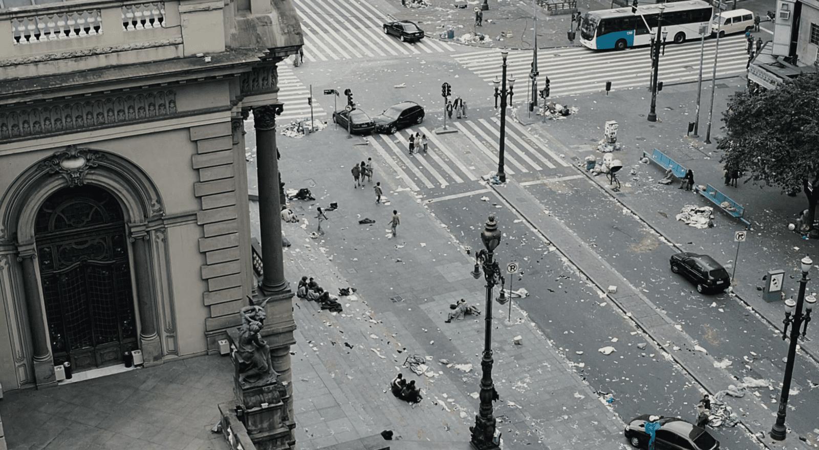 Eine Welt ohne Regierung. Filmstill aus Blindness (Meirelles 2008).
