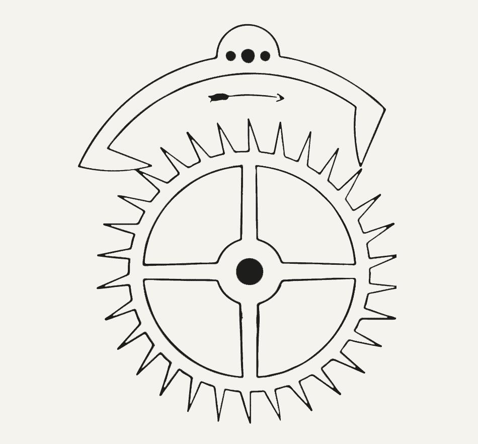 Robert Hooke, der die Experimente der <em>Royal Society</em> kuratierte, erfand vermutlich die Ankerhemmung. Wahrscheinlich entdeckte Hooke auch die Unruh – diese kleine Spiralfeder, welche die Gewichte für Uhren überflüssig machte.