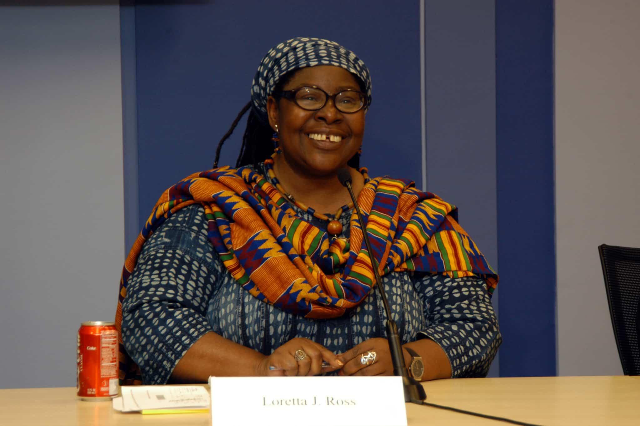 Loretta J. Ross, Feministin, Hochschullehrerin, Aktivistin und Mitgründerin von Sister Song (Bild: Center for American Progress, Flickr)