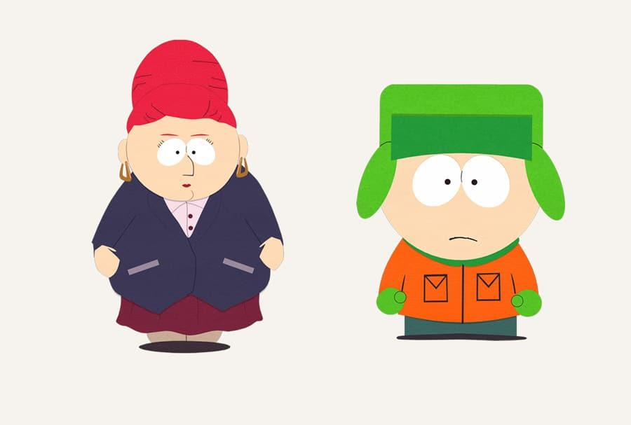 Sheila Broflovski ist die mehr als fürsorglihe Mutter von Kyle Broflovski, einer der Hauptfiguren aus der Animationsserie South Park (1997ff.).